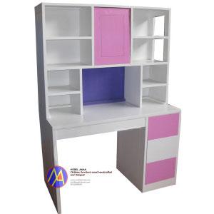 Meja-Belajar-Pink-Putih